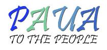 Paua to the People Logo