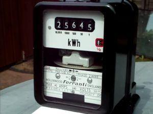 Legacy Ferranti disk meter