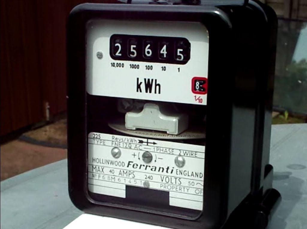 Ferranti Disk Meter That Power Guy
